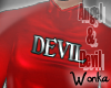 W° Devil Onesie .M