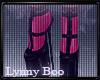 *Felicity Pink Platforms