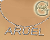 Silver necklace ARUEL