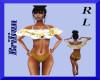 [B]Gold White Bikini RL