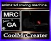 animated rowing machine