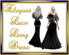 Elegant Lace Long Dress