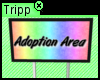 Adoption Area Sign