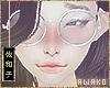 爽子Round Glasses W