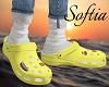 Yellow Crocs M