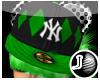 [LF] P-NY Cap - Green F