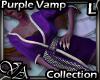 VA Purple Vamp Kimono