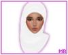 ☪ White Hijab