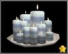 C2u Blue Cream Candles 1