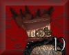 Steampunk Burlesque Hat
