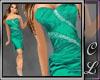 Linny Dress Green