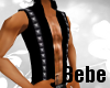 Studded Black Vest