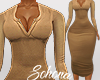 ṩNina Dress rl Tan