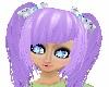 Skys Purple Neptune Hair