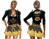 KISS GOLD OUTFITS