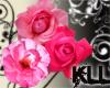 [KLL] Pink Rose Cluster