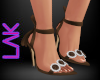 Tatiana heels brown