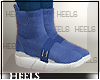 !H! SockSneakers Blue
