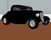 Black 34 Ford Coupe