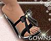 Heels - black bow