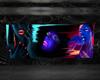 `cc`frame neon faces