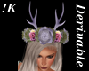 !K! Antler Flower Crown1