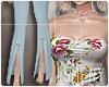 [Is] Floral Suit Blue