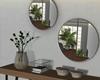 New City Mirror + Table