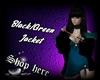 Black/Green Jackte