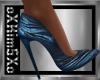 ❤ SEXY Blue Heels