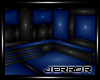 ~J Black Blue Small Room