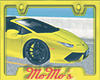 MM Yellow Spyder sticker