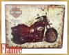 Harley bike poster