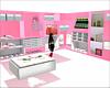 kids pink closet