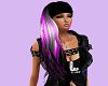 Purple, Silver w/headban