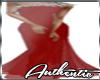 Red Designer Dress