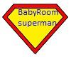 Baby Room Superman