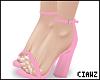 🎀 Pink Sandals/Heels