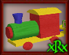 Toy Train with Blocks
