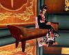 Oriental bench seat