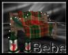 Log Cabin Cuddle Bench