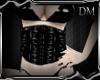 [DM] Black PVC Corset