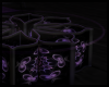 Mandala Table ~ Purple