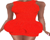 VE_Orange Glitter Dress