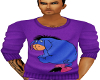 Purple Eeyore Sweater