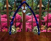 Royal Blue Wedding Arch