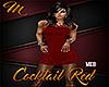 [M] Cocktail Red MED