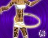 (J)hula hoop gold