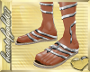 *h*Greek God Shoes*Silv*