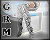 [Grm] Tight Boots Zebra
